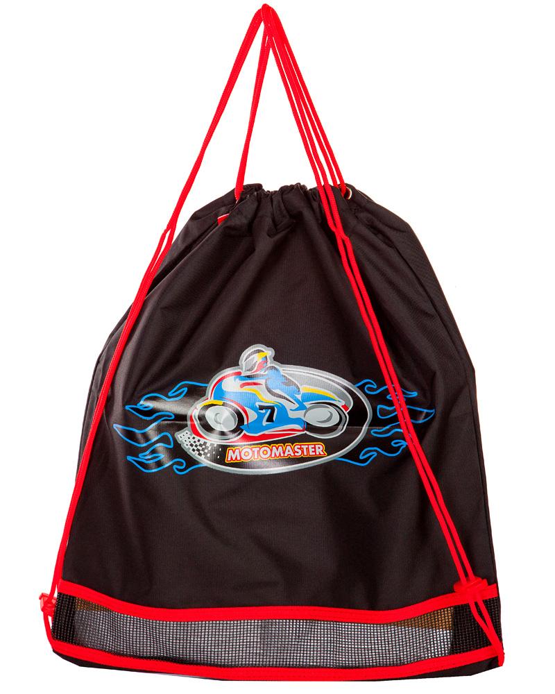 Школьный рюкзак - ранец HummingBird Motomaster K64 с мешком для обуви, - фото 4