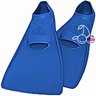 Ласты детские эластичные маленький размер 22 синие закрытая пятка ProperCarry (ПРОПЕРКЭРРИ)