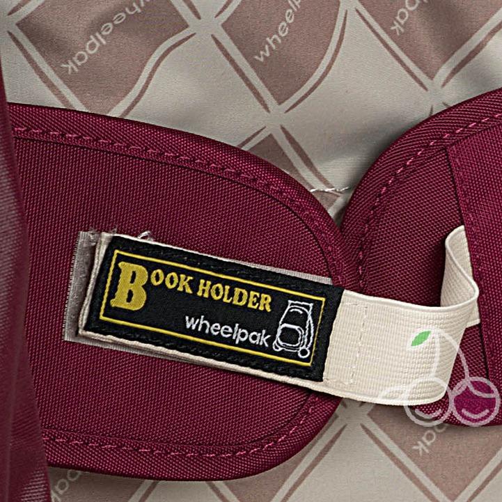 Школьный рюкзак на колесах для девочки - ранец Wheelpak Classic BORDO - арт. WLP3200 (для 2-4 класс, 21 литр), - фото 3